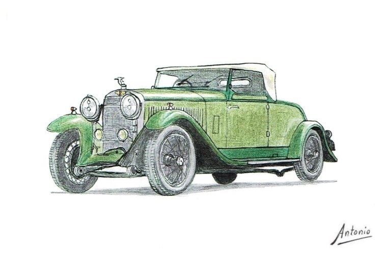 Hispano-Suiza H6B Cabriolet Dietrich (1927)