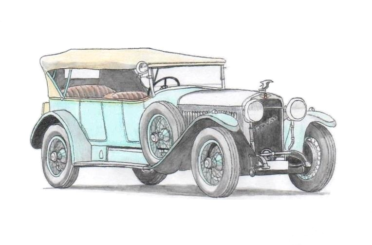 Hispano-Suiza H6B Torpedo Million-Guiet (1923)